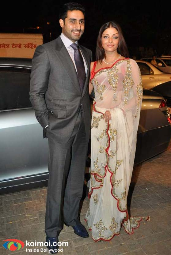 Abhishek Bachchan Aishwarya Rai Bachchan At Nandita Mahtanis