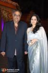 Boney Kapoor, Sridevi At The Dhoot Wedding