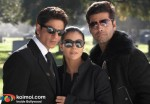 Shah Rukh Khan, Kajol, karan Johar ('My Name Is Khan' Movie Still)