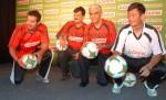 John & Bhaichung Bhutia A Castrol Football Event