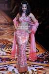 Mugdha Godse walks the ramp for Pria Kataria Puri at Lakme Fashion Week 2010