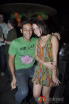 Nauheed and Abhishek Kapoor at St. Patrick's Day Celebration