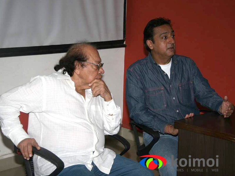 Gulshan Grover as guest lecturer for Roshan Taneja Academy