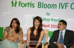 Diana Hayden Inaugrates A Clinic