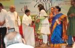 Lata Mangeskar Kajol At Dinnath Mangeshkar Puraskar Award