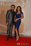 Raj Kundra, Shilpa Shetty at IPL Awards