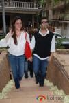 Sonam, Karan Johar At Twinkle Khanna's launch of holiday line Villa Tara