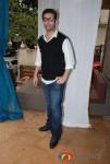 Karan Johar At Twinkle Khanna's launch of holiday line Villa Tara