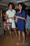 Lara Dutta,Tanya Deol At Twinkle Khanna's launch of holiday line Villa Tara