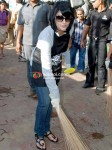 Urvashi Dholakia At Water Campaign