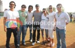 Arjun Rampal, Sajid Khan, Ritesh Deshmukh, Akshay Kumar, Jiah Khan, Deepika Padukone, Sajid Nadiadwala At Housefull cricket match