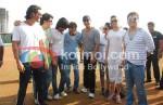 Arjun Rampal, Sajid Khan, Ritesh, Deshmukh, Chunky Pandey, Akshay Kumar, Jiah Khan, Deepika Padukone, Sajid Nadiadwala At Housefull cricket match