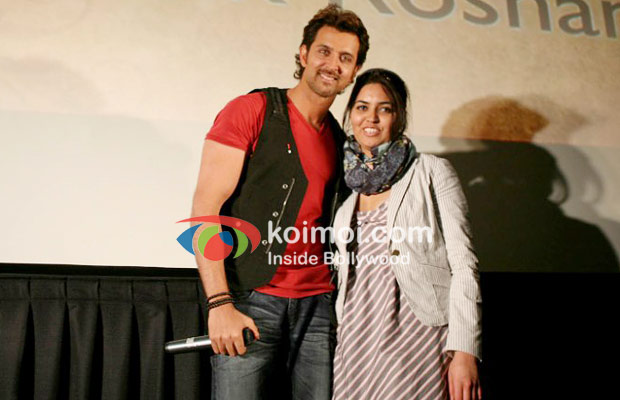 Hrithik Roshan Promotes Kites At Manhattan
