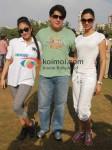 Jiah Khan, Sajid Khan, Deepika Padukone At Housefull cricket match
