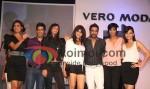 Lara Dutta, Manish Malhotra, Shamita Singha, Genelia Dsouza, Rocky'S, Jesse Randhawa, Dia Mirza At Vero Moda Fashion show