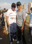 Mohammed Azharuddin, Akshay Kumar At Housefull cricket match