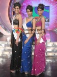 Neha Hinge, Manasvi Mamgai, Nicole Faria At Winners of Femina Miss India 2010 Finale