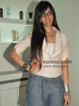Nishka Lulla At Biguine Salon Launch with Lecoanet Hemant show