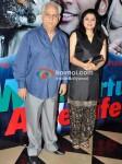 Ramesh Sippy, Kiran Juneja At It's a Wonderful Afterlife Premiere