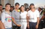 Sajid Nadiadwala, Akshay Kumar Deepika Padukone, Arjun Rampal At Housefull cricket match