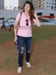 Sangeeta Bijlani At Housefull cricket match