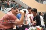 The Great Khali Meets Fans