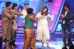 Anu Malik, Salim Merchant, Bipasha Basu, Kunal Kapoor on the sets of Indian Idol