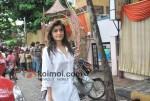 Queenie Dhody At Viveka Banerjee's Condolence Meet