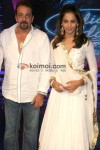 Sanjay Dutt, Bipasha Basu on the sets of Indian Idol