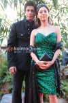 Shah Rukh Khan, Gauri Khan At Raavan Premiere