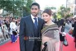 Abhishek Bachchan, Aishwarya Rai Bachchan At Raavan Premiere