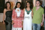 Juhi Chawla-Sophie Choudry At Art Exhibition