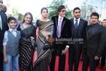 Jaya Bachchan, Aishwarya Rai Bachchan, Amitabh Bachchan, Abhishek Bachchan At Raavan Premiere