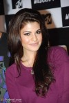 Jacqueline Fernandez was her chirpy, pretty self at the launch of MTV Wildcraft in Bandra.