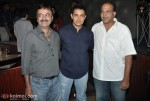Raju Hirani, Aamir Khan, Ashutosh Gowariker At Peepli Live Music Launch