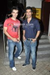 Punit Malhotra, Manish Malhotra At 'I Hate Luv Storys' Movie Special Screening
