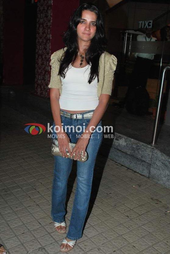 Sonam Kapoor At 'I Hate Luv Storys' Movie Special Screening