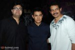 Prasoon Joshi, Aamir Khan, Atul Kulkarni At Peepli Live Music Launch