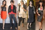 Eesha Koppikhar, Gul Panag, Sonam Kapoor, Kangna Ranaut, Celina Jaitly