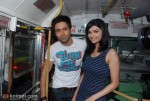 Emraan Hashmi and Prachi Desai Took a Bus Ride To Promote Their Movie 'Once Upon A Time In Mumbaai'