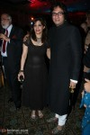 Talat Aziz with wife Bina At French National Day Celebrations
