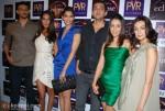 It was a busy day for the 'Aisha' team: Arunoday Singh, Lisa Haydon, Sonam Kapoor, Cyrus Sahukar, Amrita Puri and Ira Dubey at the premiere of 'The Twilight Saga: Eclipse'.