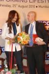 Shilpa Shetty At The FICCI Wellness Seminar 2010