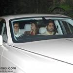 Aishwarya, Abhishek And Amitabh Bachchan Snapped On The Occasion Of Karva Chauth