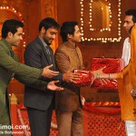 Golmaal 3 Stars With Mithun At Colors Diwali Show
