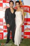 Deepika Padukone and Siddharth Mallya At Kingfisher Calendar Event