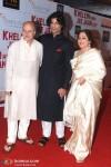 Anupam Kher, Sikander Kher, Kirron Kher