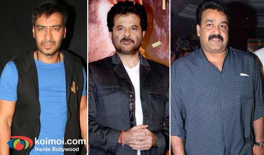 Ajay Devgan, Anil Kapoor, Mohanlal In Tezz
