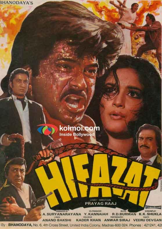Anil Kapoor Hifazat Movie Poster