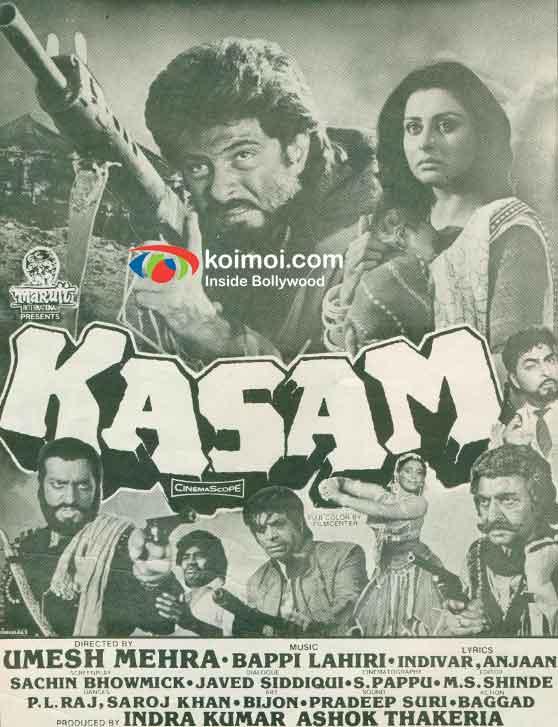 Anil Kapoor Kasam Movie Poster